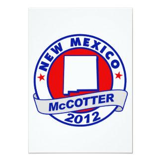 "New Mexico Thad McCotter 5"" X 7"" Invitation Card"