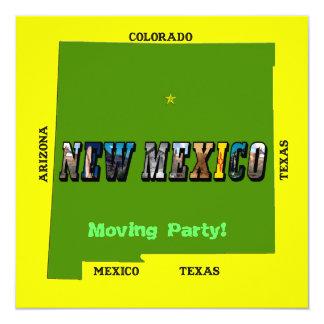 New Mexico, USA 13 Cm X 13 Cm Square Invitation Card