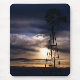 New Mexico Windmill Mouse Pad