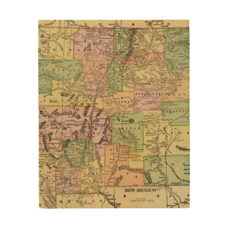 New Mexico Wood Wall Art