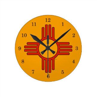 New Mexico Zia Clock
