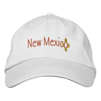 New Mexico_Zia Embroidered Baseball Caps