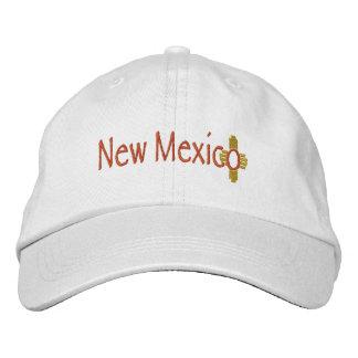 New Mexico_Zia Embroidered Baseball Cap