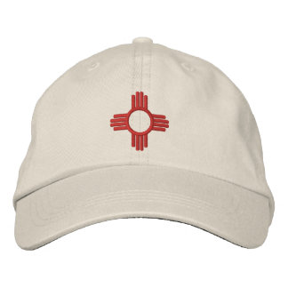 New Mexico Zia Embroidered Hat