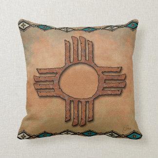 New Mexico Zia (sun) Cushion
