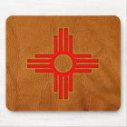 New Mexico Zia Sun Symbol Mouse Mat
