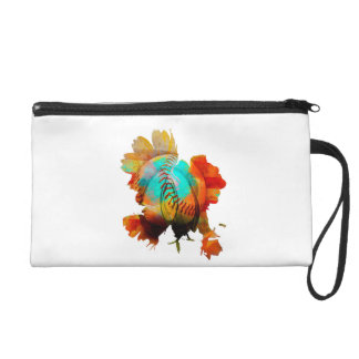 New Mixed Art - Advanced Spherical Flowers! Wristlet