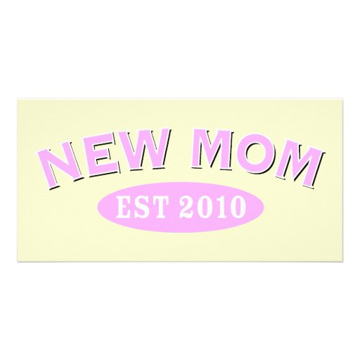 New Mom 2010 Picture Card