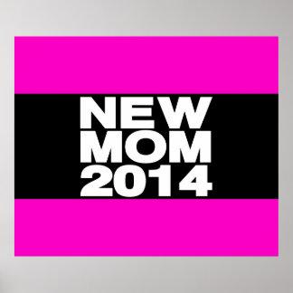New Mom 2014 Lg Pink Print