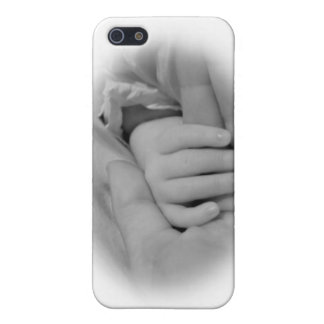 New Mom and Baby Holding Hands Photo iPhone 5 Case