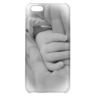 New Mom and Baby Holding Hands Photo iPhone 5C Case