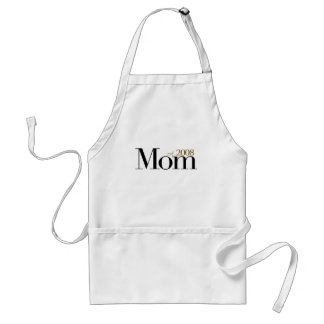 New Mom Est 2008 Standard Apron
