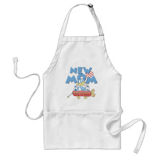 New Mom It's a Boy Tshirts and Gifts Standard Apron