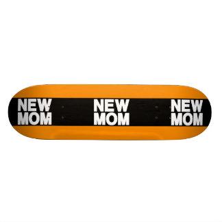 New Mom Lg Orange Skate Board