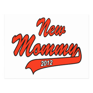 New Mommy 2012 Postcard