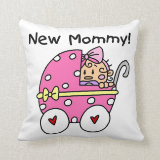New Mommy Baby Girl Gifts Cushion