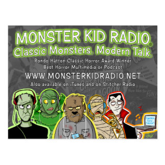 New Monster Kid Radio Card
