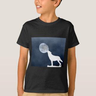 New Moon - howling wolf T-Shirt