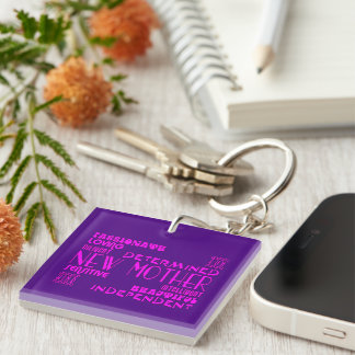 New Mothers & New Moms Baby Showers : Qualities Key Ring