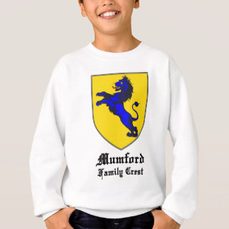 new mumford family crest coat of arms sweatshirt