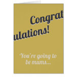 New Mums Card