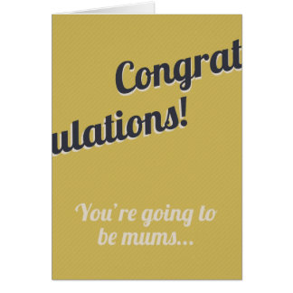 New Mums Card