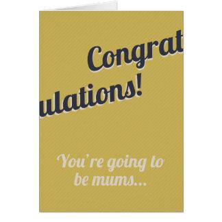 New Mums Greeting Card