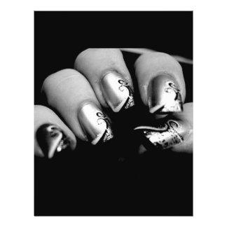 New nails 21.5 cm x 28 cm flyer