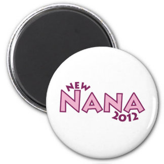 New Nana 2012 6 Cm Round Magnet