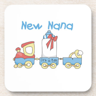 New Nana - Train Gifts Beverage Coasters