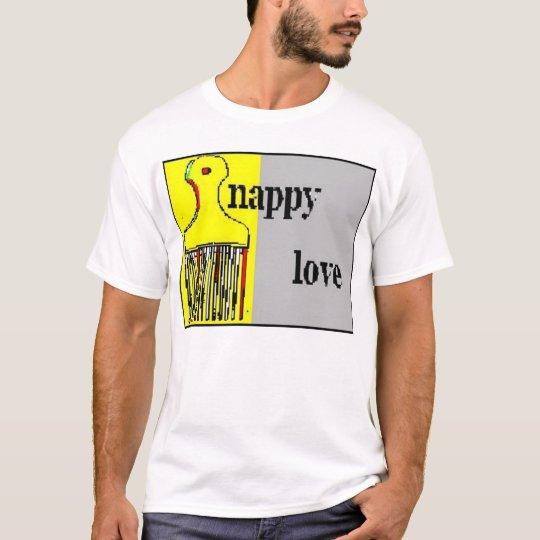 new nappy love logo T-Shirt