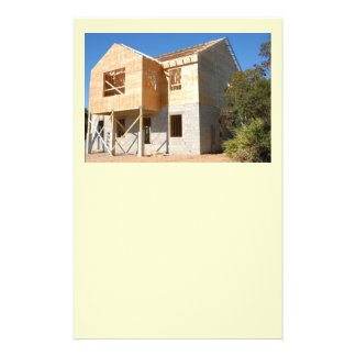 new new home construction 14 cm x 21.5 cm flyer