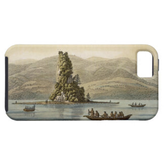 New Norfolk near Vancouver (colour engraving) iPhone 5 Case