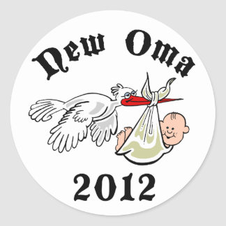 New Oma 2012 Round Sticker