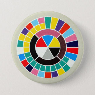 New Order - Power Corruption & Lies - 84 LP Grapic 7.5 Cm Round Badge