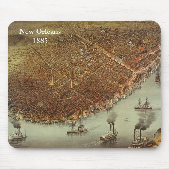 New Orleans1885 Mouse Mat