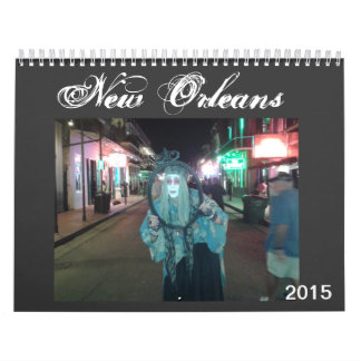 New Orleans 2015 Calendar