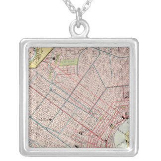 New Orleans 2 Silver Plated Necklace