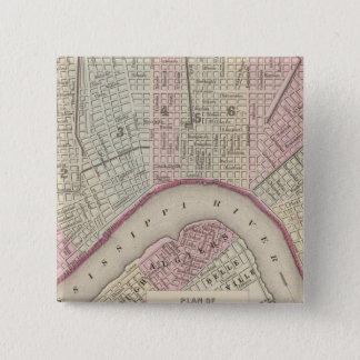 New Orleans 3 15 Cm Square Badge
