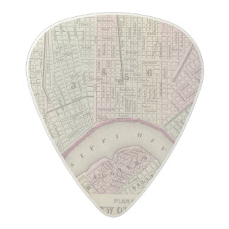 New Orleans 3 Acetal Guitar Pick