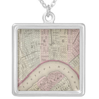 New Orleans 3 Silver Plated Necklace