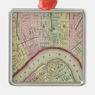 New Orleans 4 Christmas Ornament