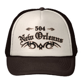 New Orleans 504 Hat