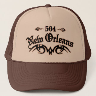 New Orleans 504 Trucker Hat