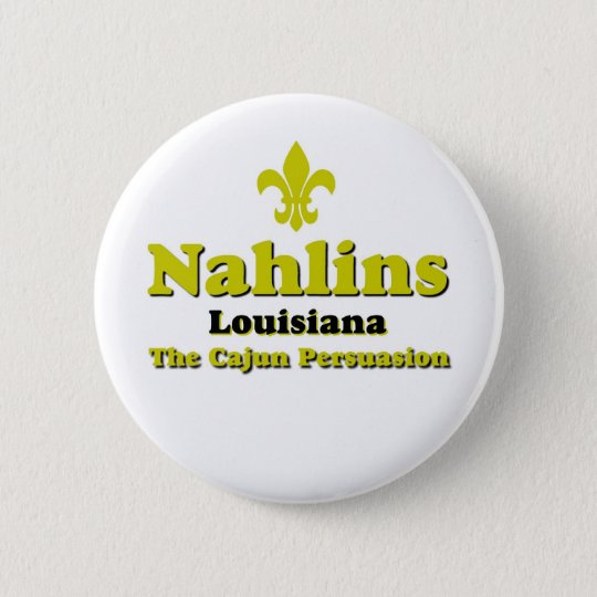 New Orleans 6 Cm Round Badge