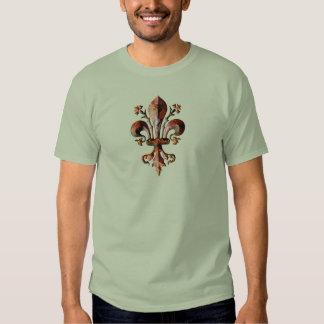 New Orleans Antique Fleur de lis metallic Shirt