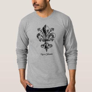 New Orleans Antique Fleur de lis T-shirts