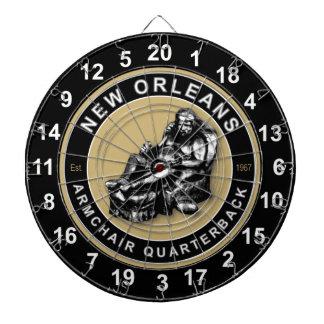New Orleans Armchair QB Football Dartboard