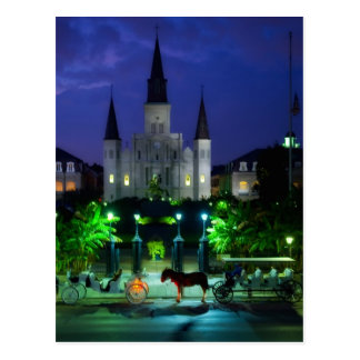 New Orleans at Night Postcard