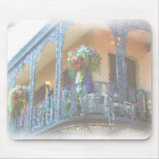 New Orleans balcony Mouse Mat